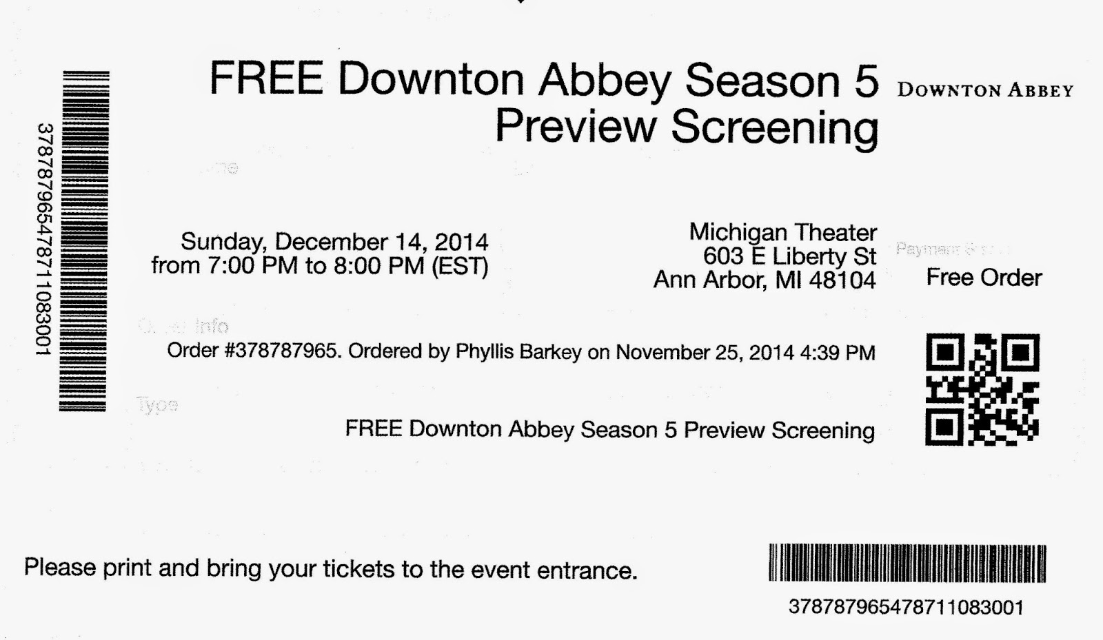 Relevant tea leaf downton abbey season v preview screening for Downton abbey tour tickets