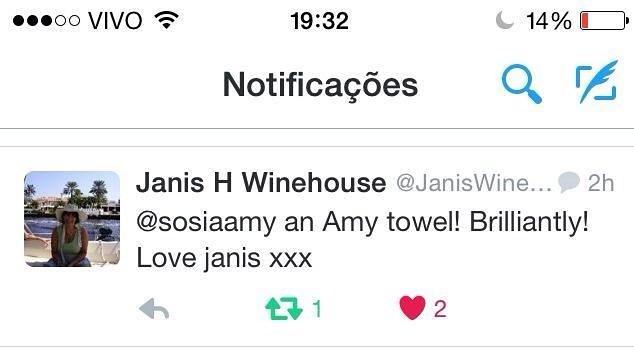 Janis Winehouse, tão Fofa!!!