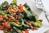 Salada de Lentilha com Ervilha-Torta (vegana)