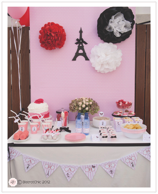 French pink party from BistrotChic