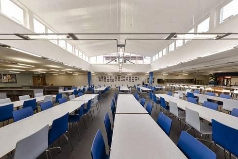 Rebranding The Refectory College Uni Interior Design