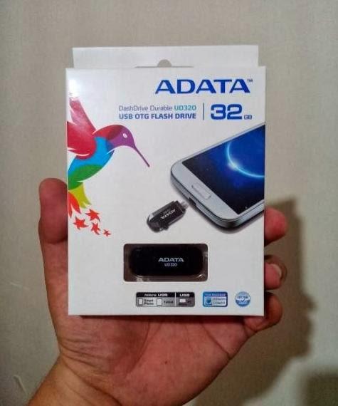 TeknoGadyet Giveaway: ADATA UD320 USB OTG Flash Drive