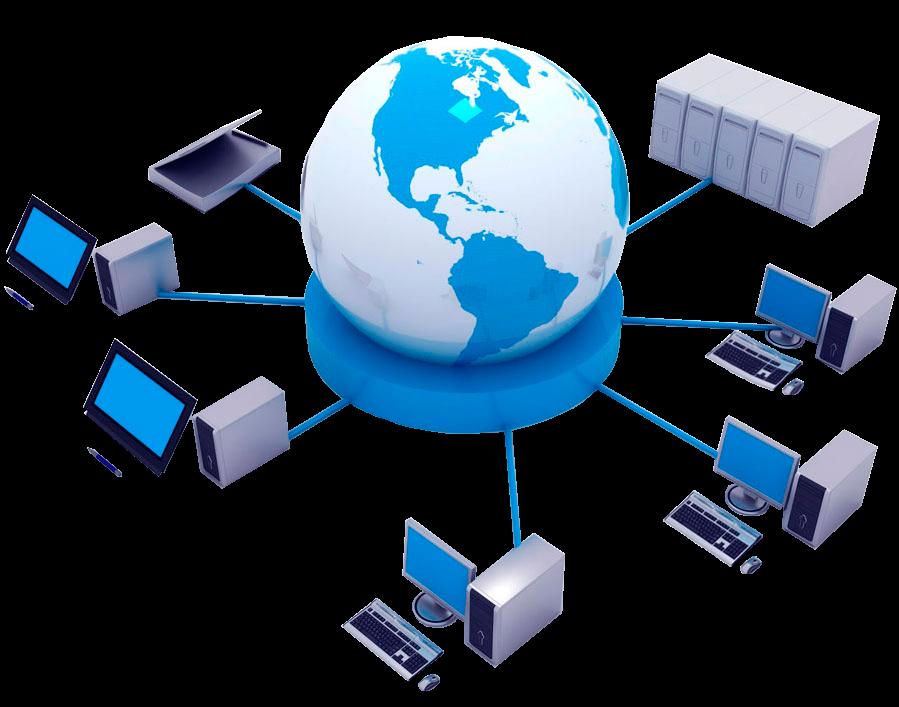 Fundamentos de la computacion que es una red de computadora for Red de una oficina