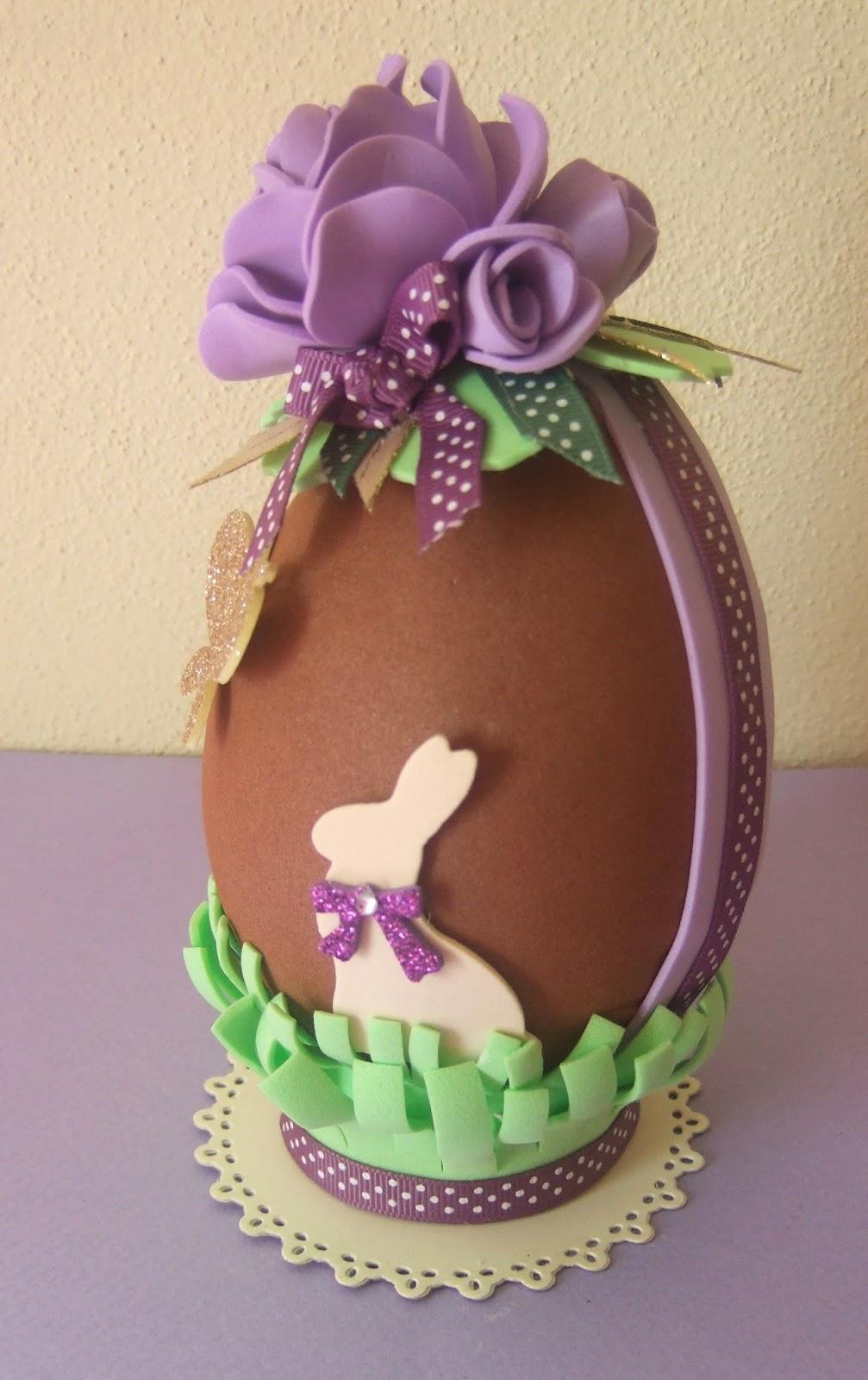 Un giardino di fantasia uovo di pasqua in gomma crepla for Idee di gomma garten