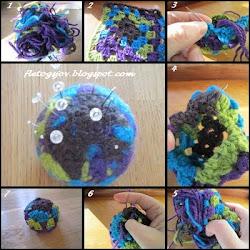DIY filtet nålepude