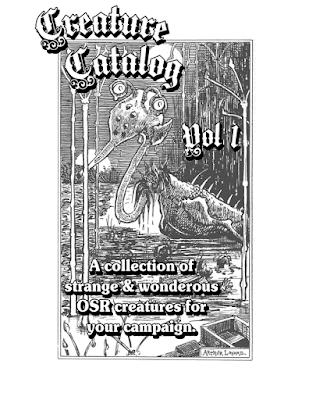 FGM036: Creature Catalog, Vol 1