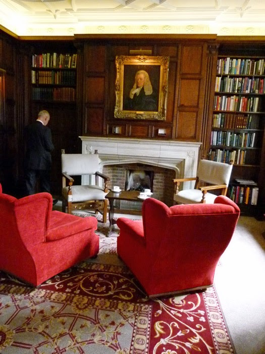 Prince's Room, bench apartments, Middle Temple, Smoking Room