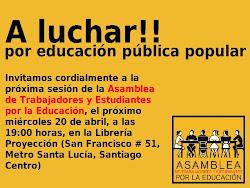 Asamblea de Trabajadores y Estudiantes por la Educación Invita