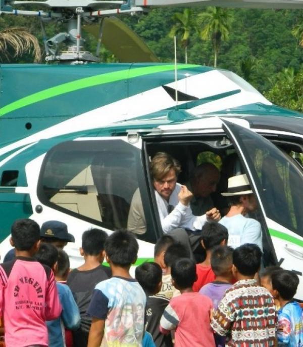 Leonardo DiCaprio di Aceh