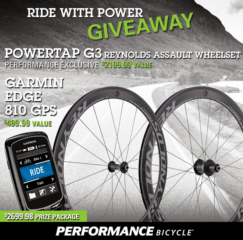 Powertap G3 Reynolds Assault Wheelset & Garmin Edge 810
