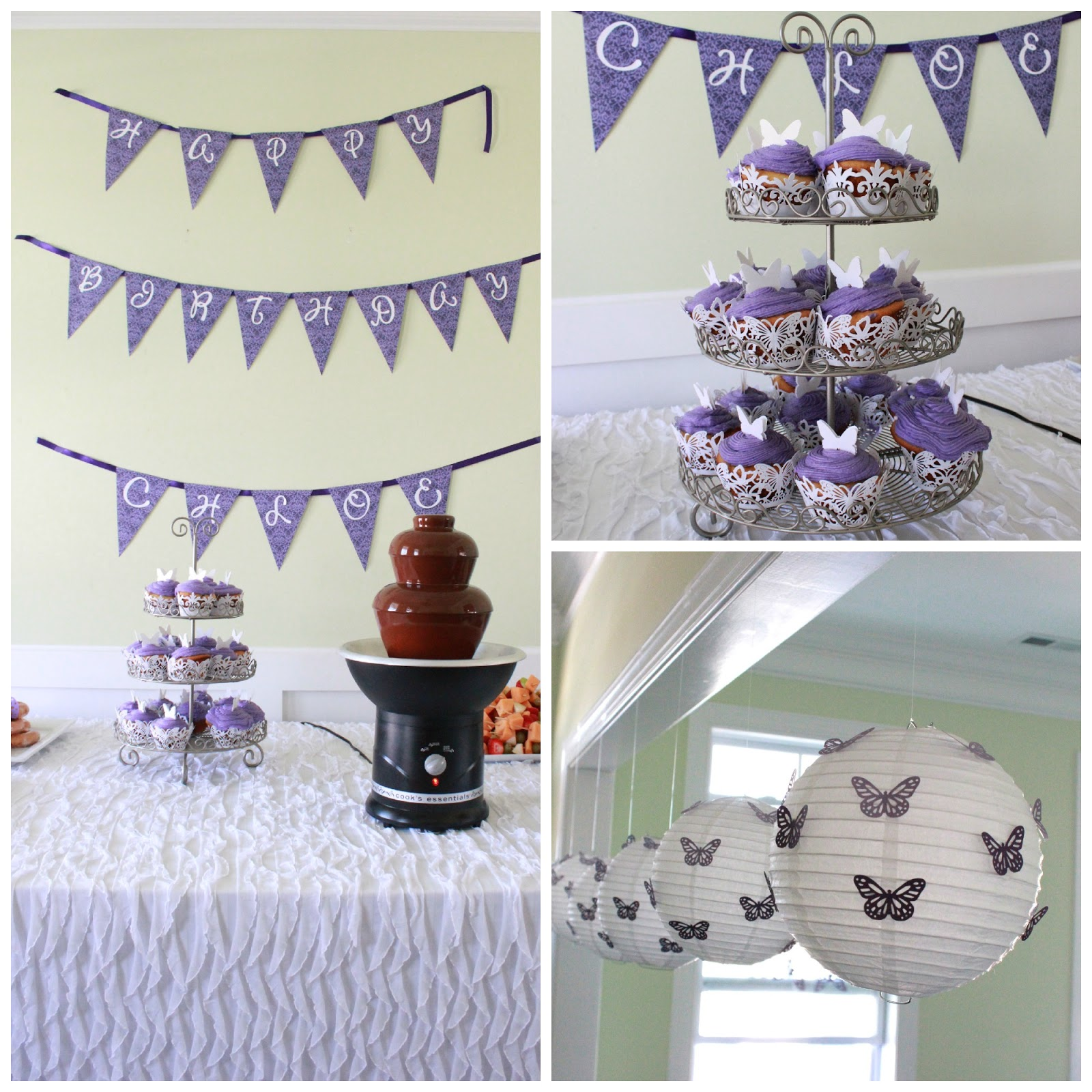 Cooper & Chloe: Chloe Turns ONE: Butterfly Themed First