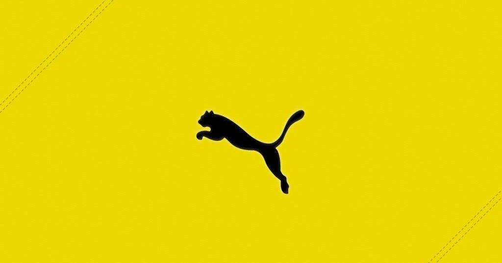 yellow puma logo - photo #8