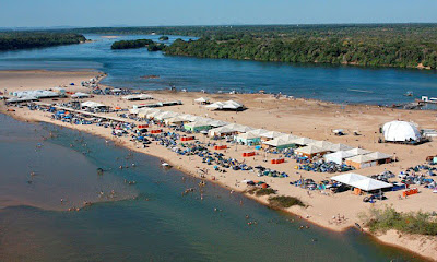 Eco praia da Tartaruga - Peixe - Tocantins