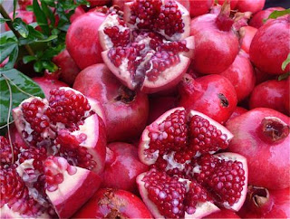 Juicy Fruit Pomegranates