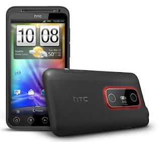 HTC Evo 3D ominaisuudet