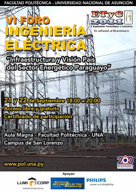 Imagen del VI Foro Ingeniería Eléctrica