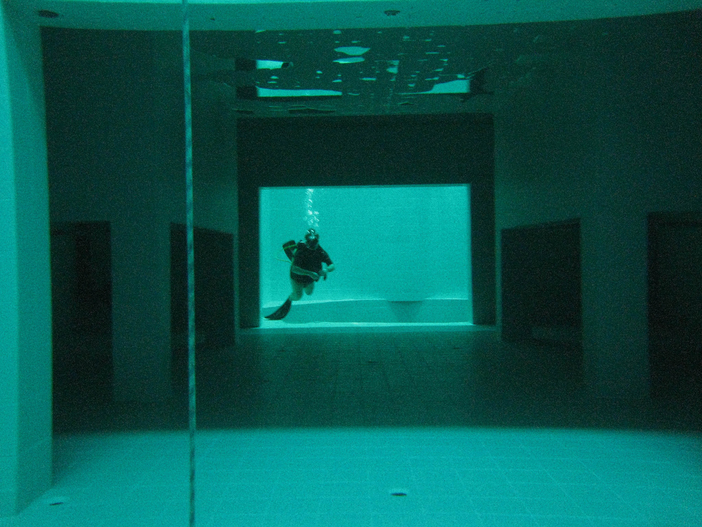The Deepest Indoor Swimming Pool In The World Mdolla