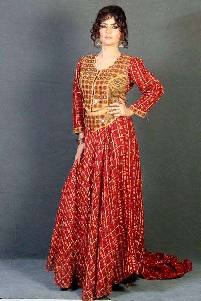 Rajasthani Dresses   Handmade Embroidery Dresses - She9 ...