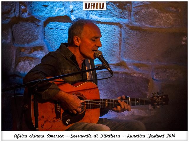 Africa chiama America - Serravalle di Filattiera - Claudio Farina - Lunatica Festival 2014