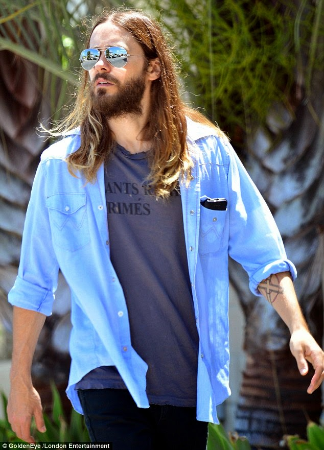 Jared Leto casual outfit