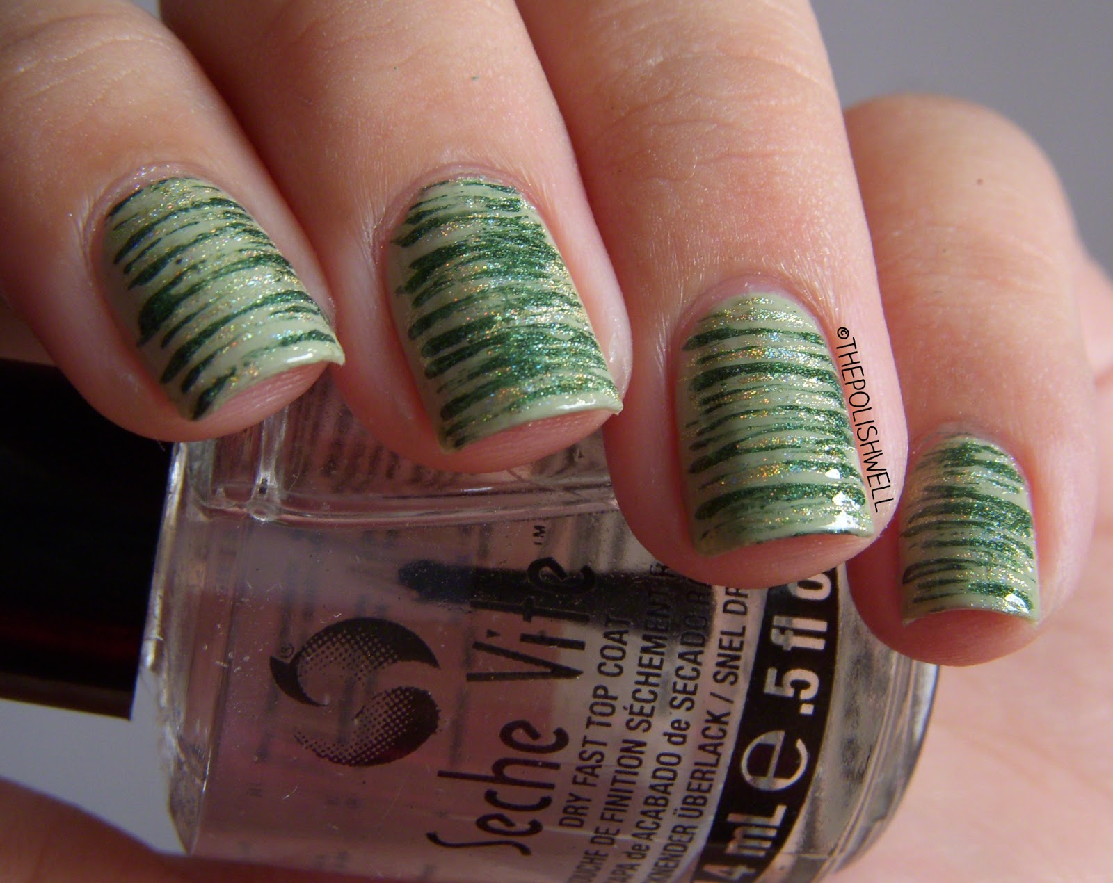 The Polish Well: Nail Ideas: St. Patrick\'s Day Manicure!