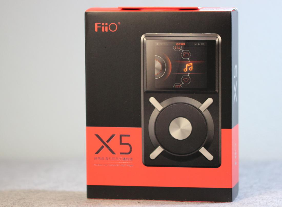 Verpackung Fiio X5