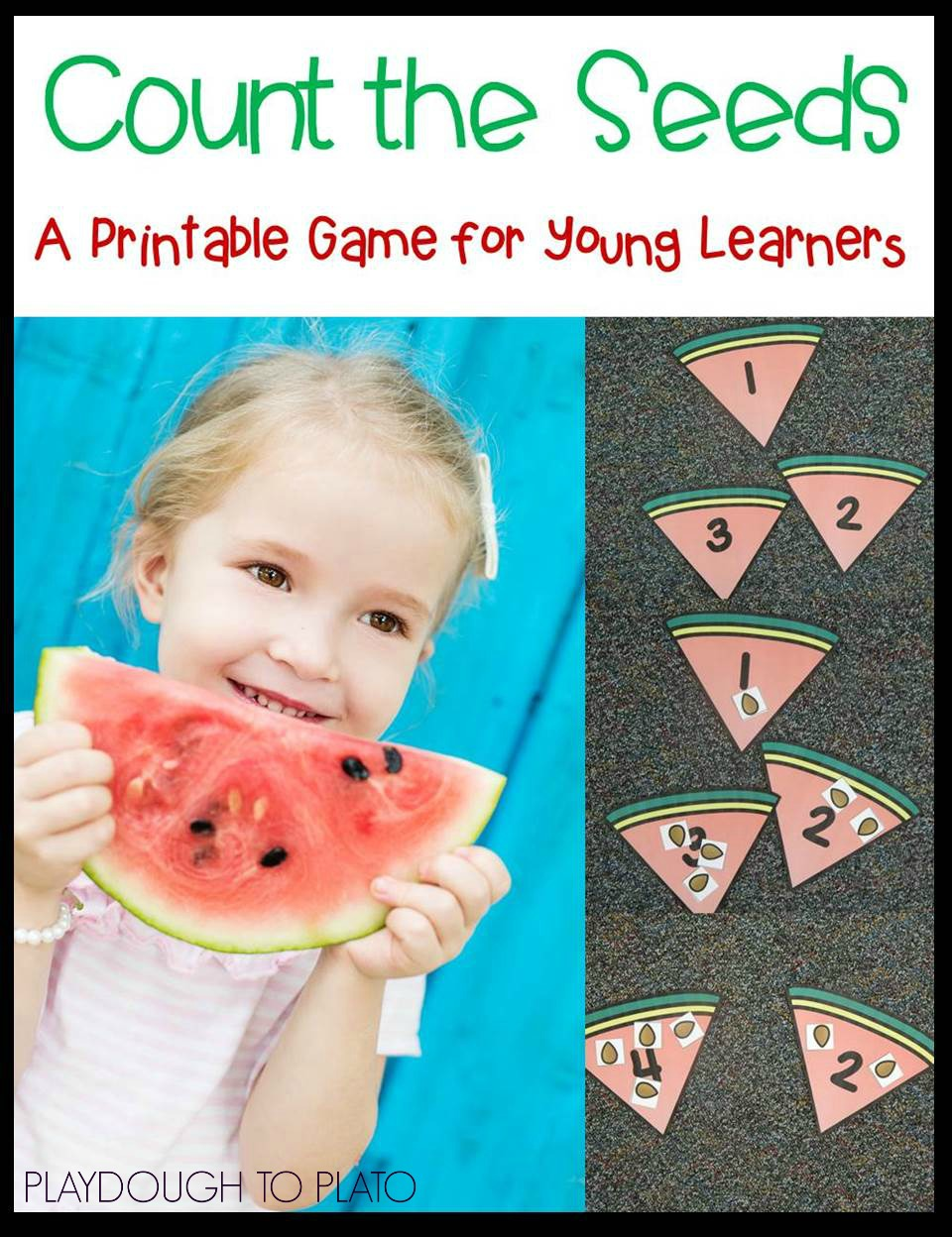 Free counting cards! (Playdough to Plato) - The Kindergarten Connection