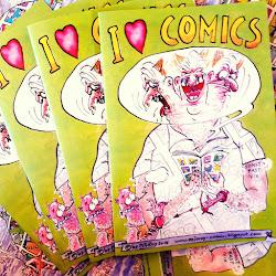 """..........................""""I Love Comics""""......................."""