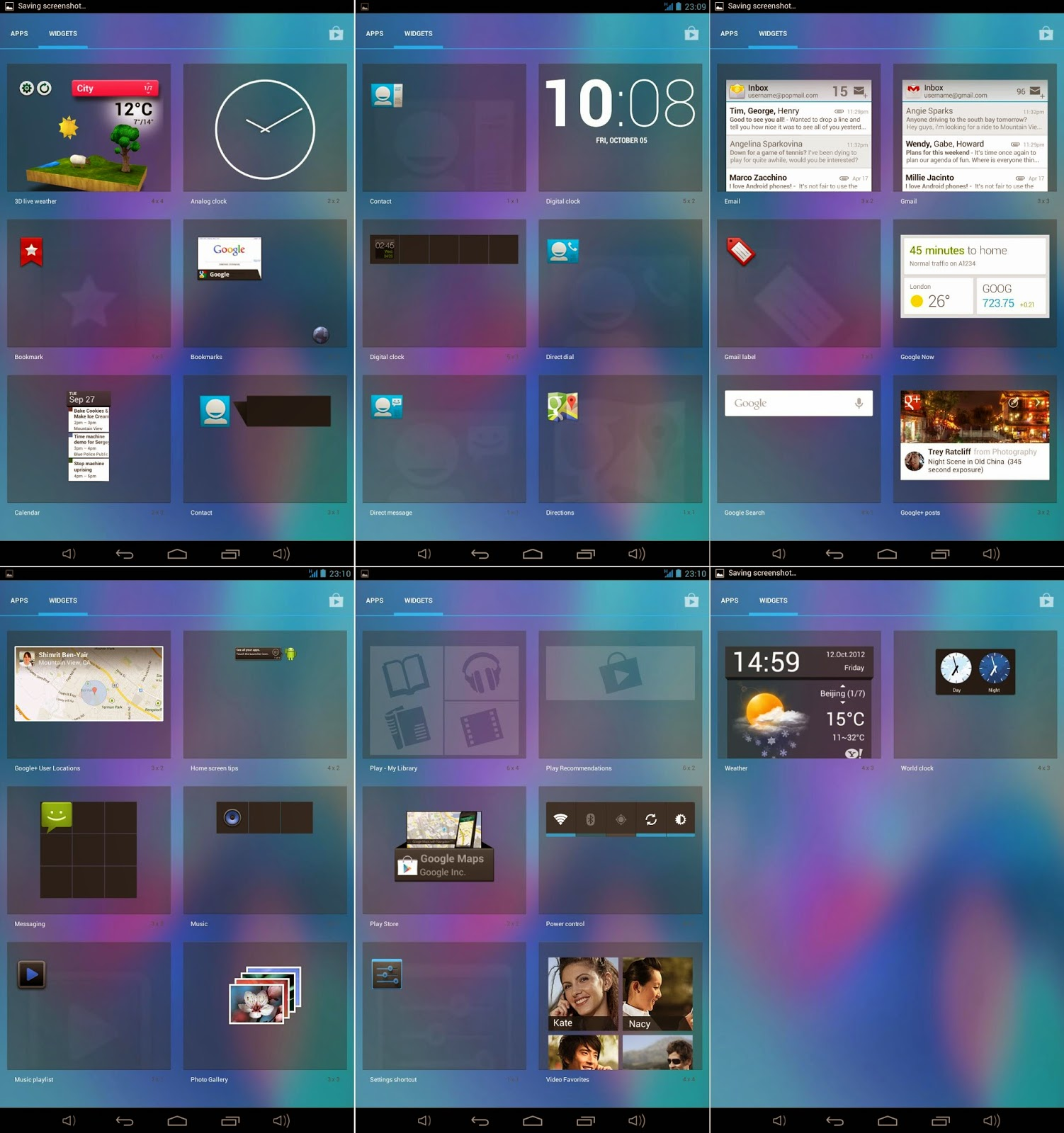 Qube PhoneTab Review: Double The Fun Default Widgets