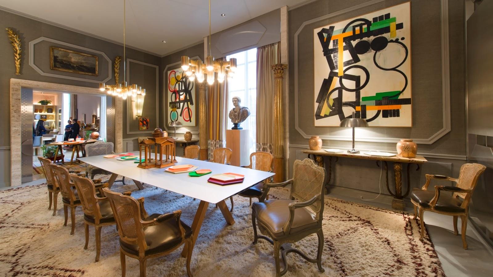 #1E6E24 Salas de jantar 50 modelos maravilhosos e dicas de como decorar  1600x900 píxeis em Decoração De Sala De Jantar Com Parede Cinza