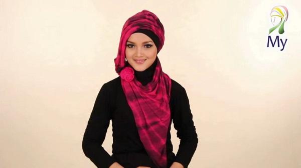 Tutorial Hijab Pasmina Modis Cantik Keren Stylish Untuk Acara Formal By Mybamus