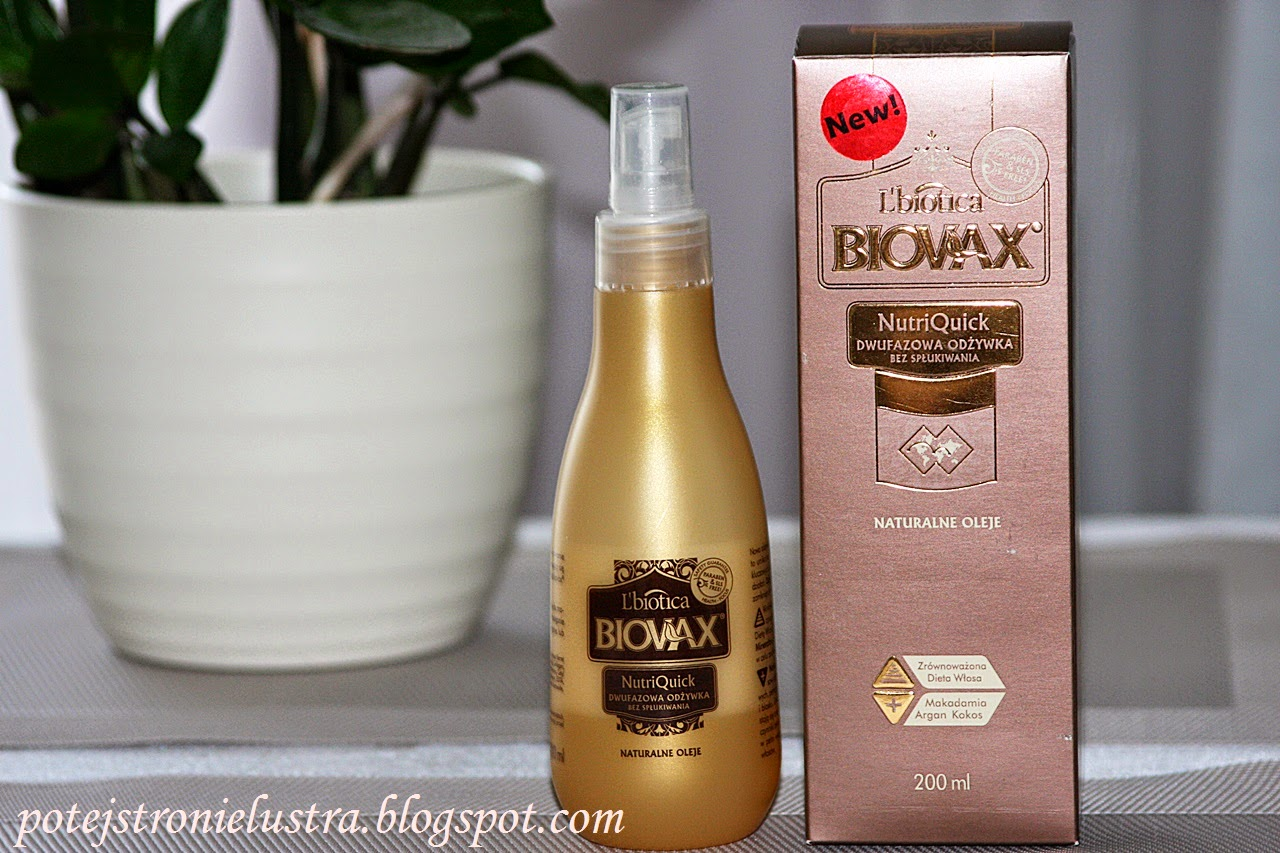 Biovax Naturalne Oleje odżywka bez spłukiwania