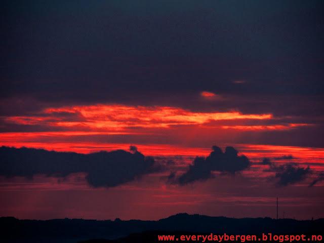 Sky over Bergen