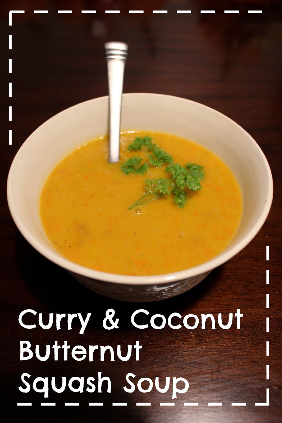 ... Ideas Are Really From Pinterest: Curry & Coconut Butternut Squash Soup