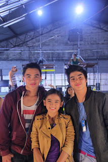 Dom Roque, Ella Cruz and Paul Salas of Aryana