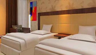 Kamar sebuah hotel di Yogyakarta