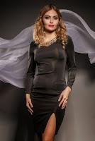 Rochie de ocazie Korolla Neagra