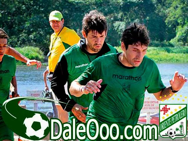 Oriente Petrolero - Eduardo Villegas - Ronald Raldes - Ronald García - DaleOoo.com sitio del Club Oriente Petrolero