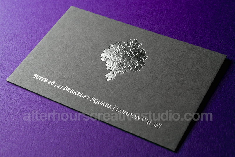 Luxury business cards top five most beautiful luxury for Most beautiful business cards