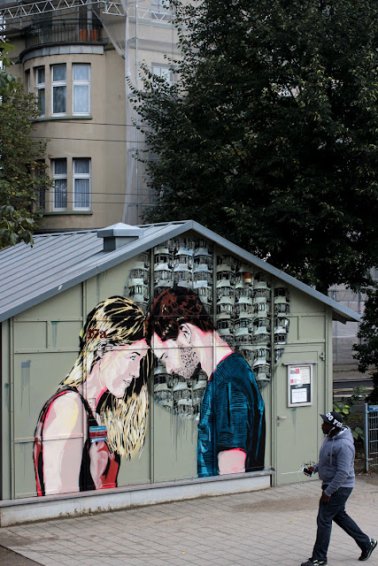 Street Art By Jana & Js In Dusseldorf, Germany For 40° Urban Art festival. 6