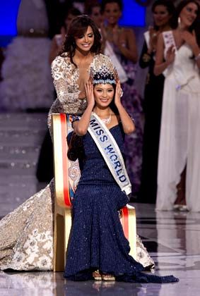 Miss World Yu Wenxia Stills