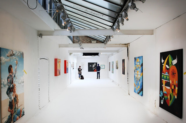 """Last Thursday in trendy East London, our friends from JUSTKIDS opened """"It's Summer Time"""", a brand new group exhibition which featured a selection of ten established and up-and-coming artists from all over the world."""