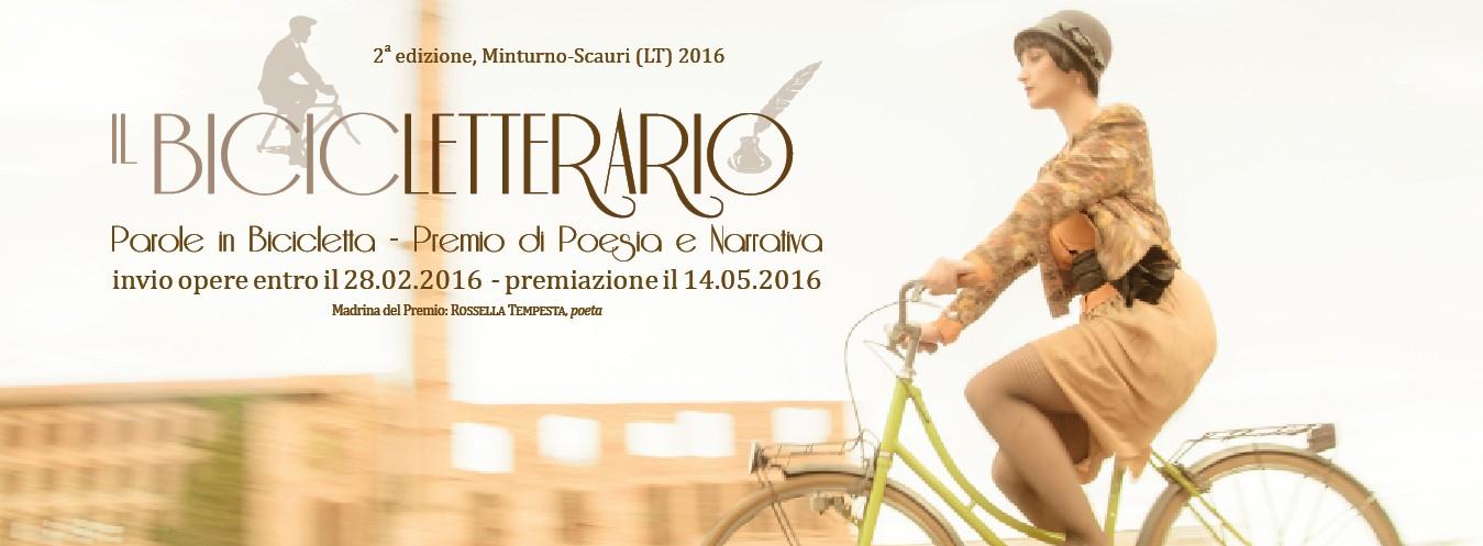 IL BICICLETTERARIO - PAROLE IN BICICLETTA, II edizione, 2016