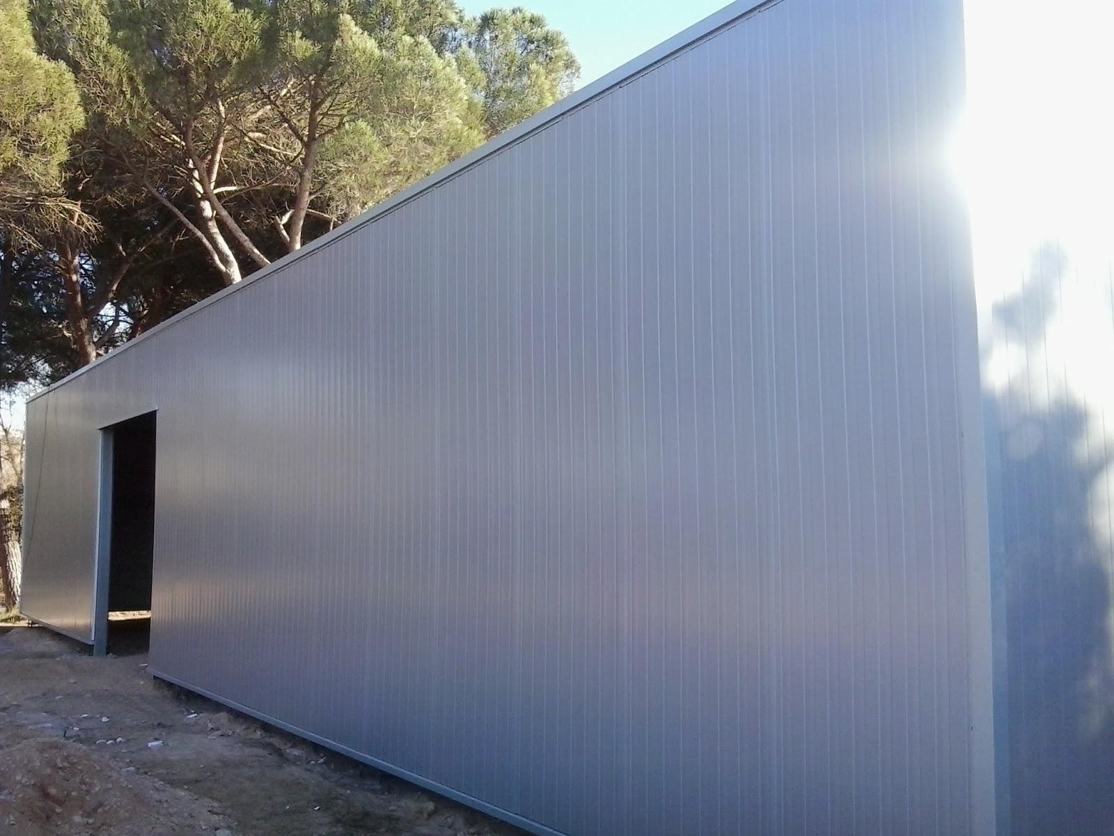 Cubierta nave industrial de madrid instaladores panel - Cubiertas para tejados ...