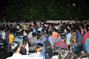 Fans Hungama at Bramaramba Theater-thumbnail-6
