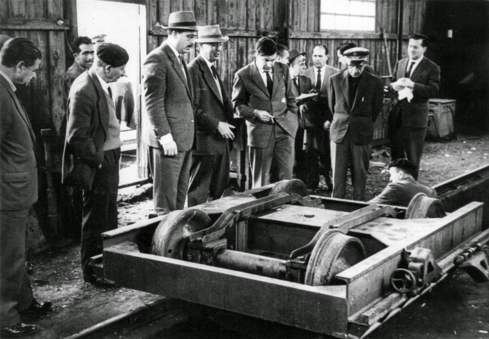 Historias del tren v a ancha sobre v a estrecha - Vigas de tren ...