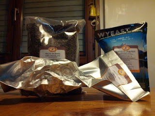 Ingredienti per una birra porter