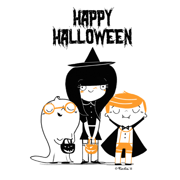 Image result for happy halloween illustrations