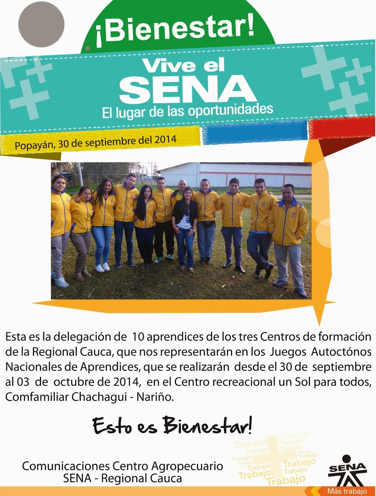 Centro Agropecuario Regional Cauca: septiembre 2014