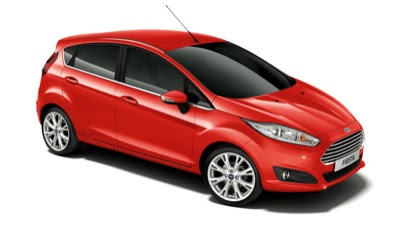 2014 Ford Fiesta race red 5-door